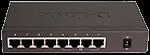 Коммутатор D-LINK DES-1008P/C1A с POE